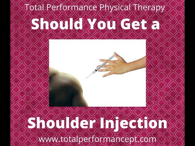 Should You Get a Shoulder Injection?