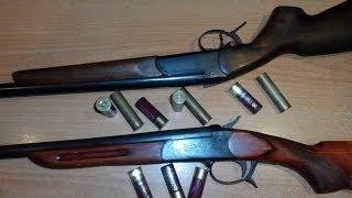 ИЖ-5 (ЗКМ) VS МР-18. Чёрный (дымный) порох. Gunpowder. Часть 3. Пулевая стрельба на 60 м.