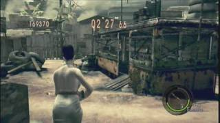 Resident Evil 5 - Mercenaries Reunion - Public Assembly as Excella - SS Rank (Part 2)