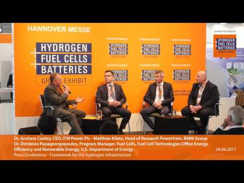 Press Conference: Framework for the hydrogen infrastructure