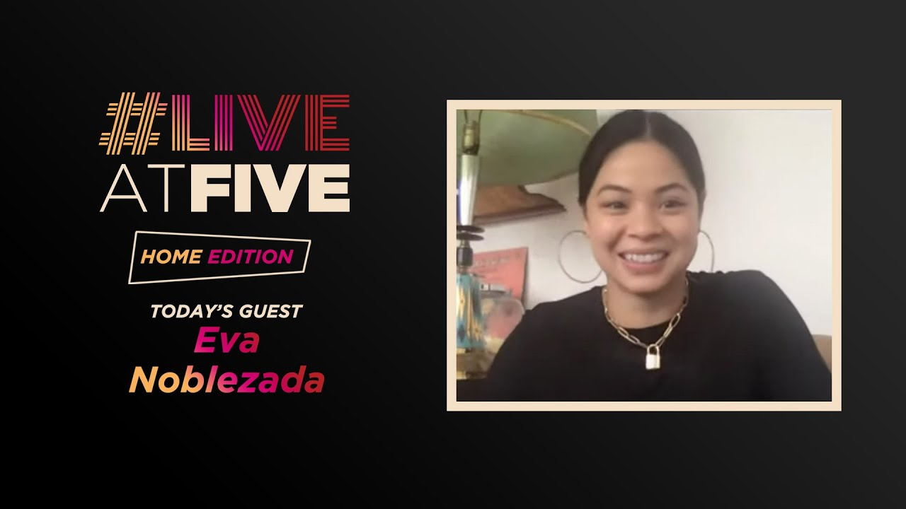 Download Broadway.com #LiveatFive: Home Edition with Tony Nominee Eva Noblezada