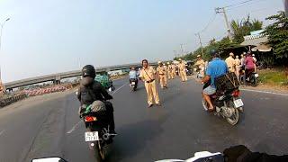 CSGT quốc lộ 1A đoạn Bình Chánh