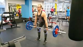Тяга толчковая 70 кг с задержкой 14 04 2016