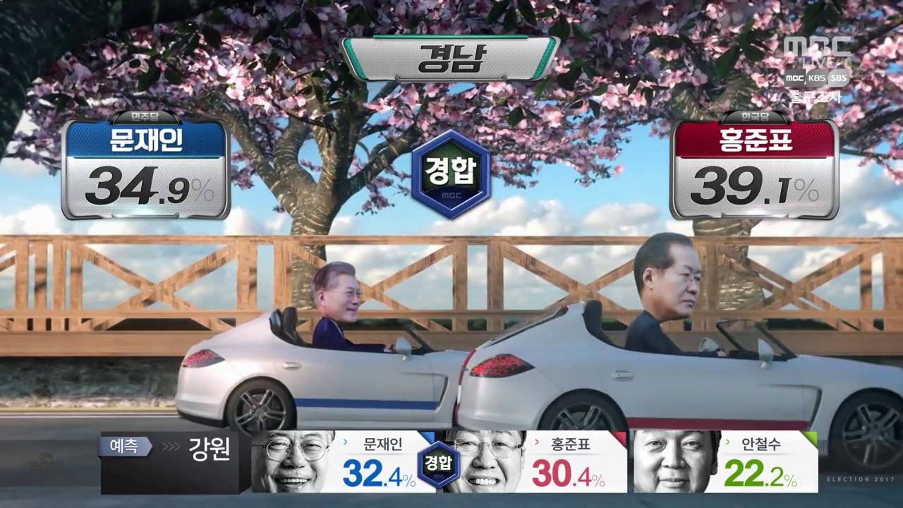 2017 MBC 선택 2017 그래픽 - 출발! 대선 레이스