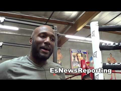 paul mendez on sparring Andre Ward and Gennday Golovkin EsNews Boxing