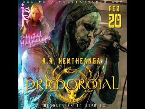 A.A. Nemtheanga of Primordial interview on The Metal Magdalene w/Jet Radio Show