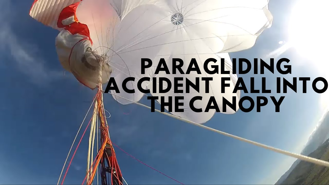 Paragliding accident- water landing full stall fall into the canopy reserve entangled FULL MOVIE - YouTube & Paragliding accident- water landing full stall fall into the ...
