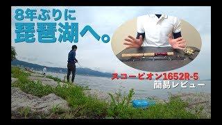 19スコーピオンと共に琵琶湖へ行ってきました。 編【1652R-5レビュー】