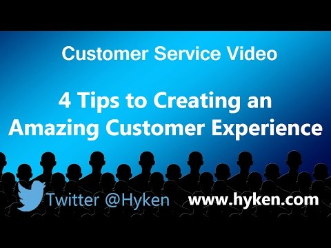 Four Customer Service Lessons for Creating an Amazing Experience