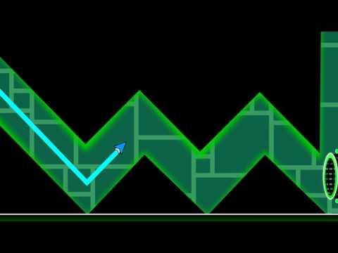 Geometry Dash Animation - Wave Portal