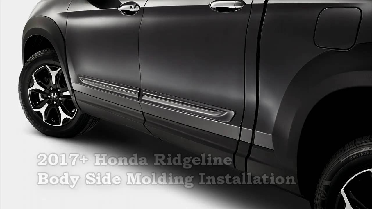 Honda Genuine Accessories 08P05-TR0-150 Alabaster Silver Metallic Side Body Molding Kit for Select Civic Models