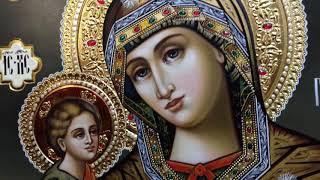Сумская Икона Богородица Гребневская Обзор Готовой Работы Написанной в Иконописной Мастерской