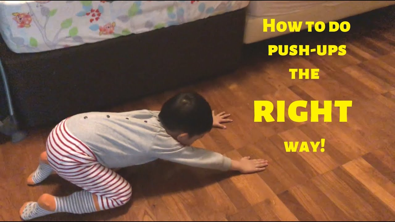 How to do Push-Ups the RIGHT way. 😂