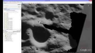 Estruturas e formas estranhas na lua detectados no google Earth thumbnail