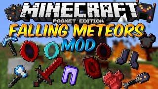 FALLING METEORS MOD PARA MINECRAFT PE 0.14.0 | Mods Para Minecraft PE 0.14.0