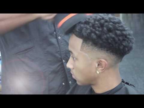 Hair Cut :  Drop Bald Fade / Hair Sponge / Razor Lining ::