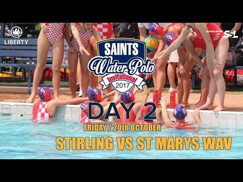 Stirling High vs St Mary's Waverley: Saints Waterpolo Invitational 20 October 2017 - Day 2