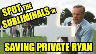 Spot the movie subliminals - SAVING PRIVATE RYAN cemetery scenes