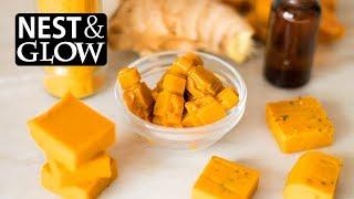 CBD Oil Turmeric Ginger Sweets Easy Recipe - No Music