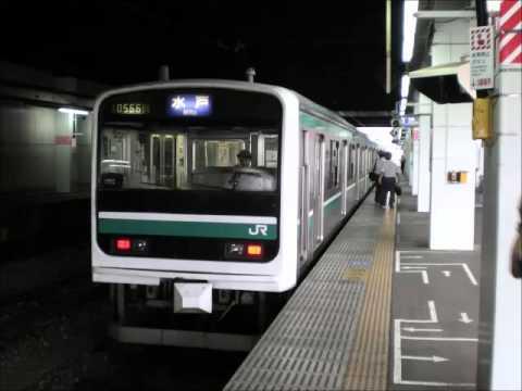 走行音/JR東日本E501系(モハE500-3)/シーメンスGTO-VVVF