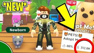 *NEW* 😻 PETS! 😻 I Found a.. *SECRET* *GLITCH* (Roblox Adopt Me!)