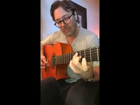 Al Di Meola Practicing for the upcoming Acoustic Tour in the North East b7525b94a6