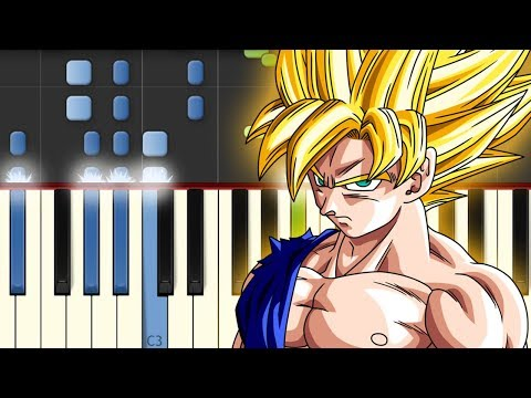 Chala Head Chala / Dragon Ball Z / Piano Tutorial