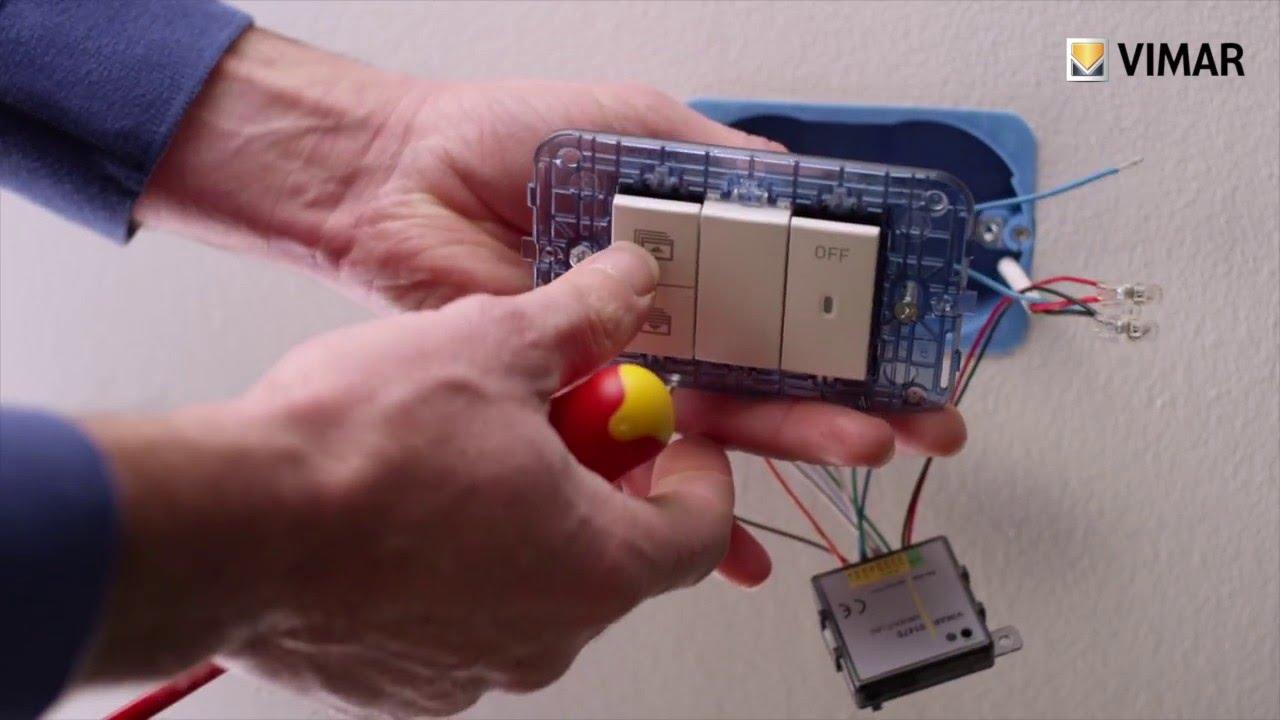 Schema Elettrico Per Domotica : Domotica plug play moduli incasso tutorial by vimar youtube