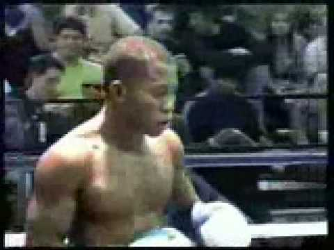 Wilmer Fernandez kickboxing