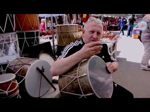 Musical Instruments At Vernissage Market In Armenia