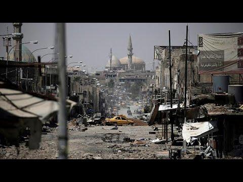 Ainda há combates em Mossul