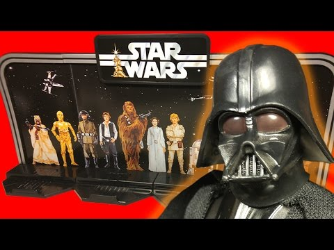 Star Wars Black Series 6 Inch Darth Vader 40th Anniversary Action Figure Review