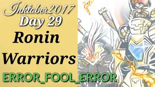 Inktober day 29 Ronin Warriors