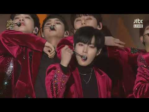 20180110 金唱片頒獎典禮 - Wanna One (워너원) - 에너제틱 (Energetic) & Twilight & Beautiful