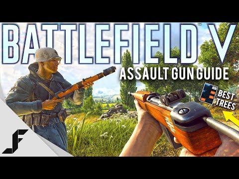 Battlefield 5 Best Assault Guns and Skill Trees!