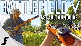 Battlefield 5 Best Assault Guns and Skill Trees!