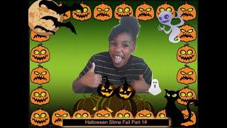 Halloween Slime Fail part 1#