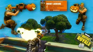 HIKEPLAYS Fortnite Battle Royale: HALLOWEEN RPG SPECIAL - NEW NUKE, WEAPONS, SKINS & TOOLS (4K)