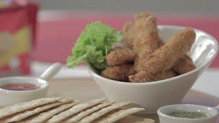 Recetas con pollo: prepara unas deliciosas julianas de pollo apanadas | Caracol Televisión