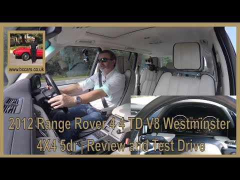 Review And Virtual Video Test Drive In Our 2012 Range Rover 4 4 TD V8 Westminster 4X4 5dr RV62HYO