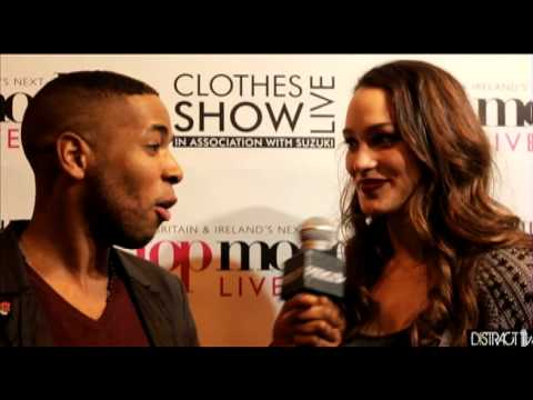 Britain & Ireland's Next Top Model winner Letitia Herod Interview DistractTV@ Clothes Show Live