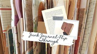Junk Journal Flip Through