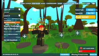 nuevo coode en 💥TOMMY GUN!💥 Island Royale en roblox 2019