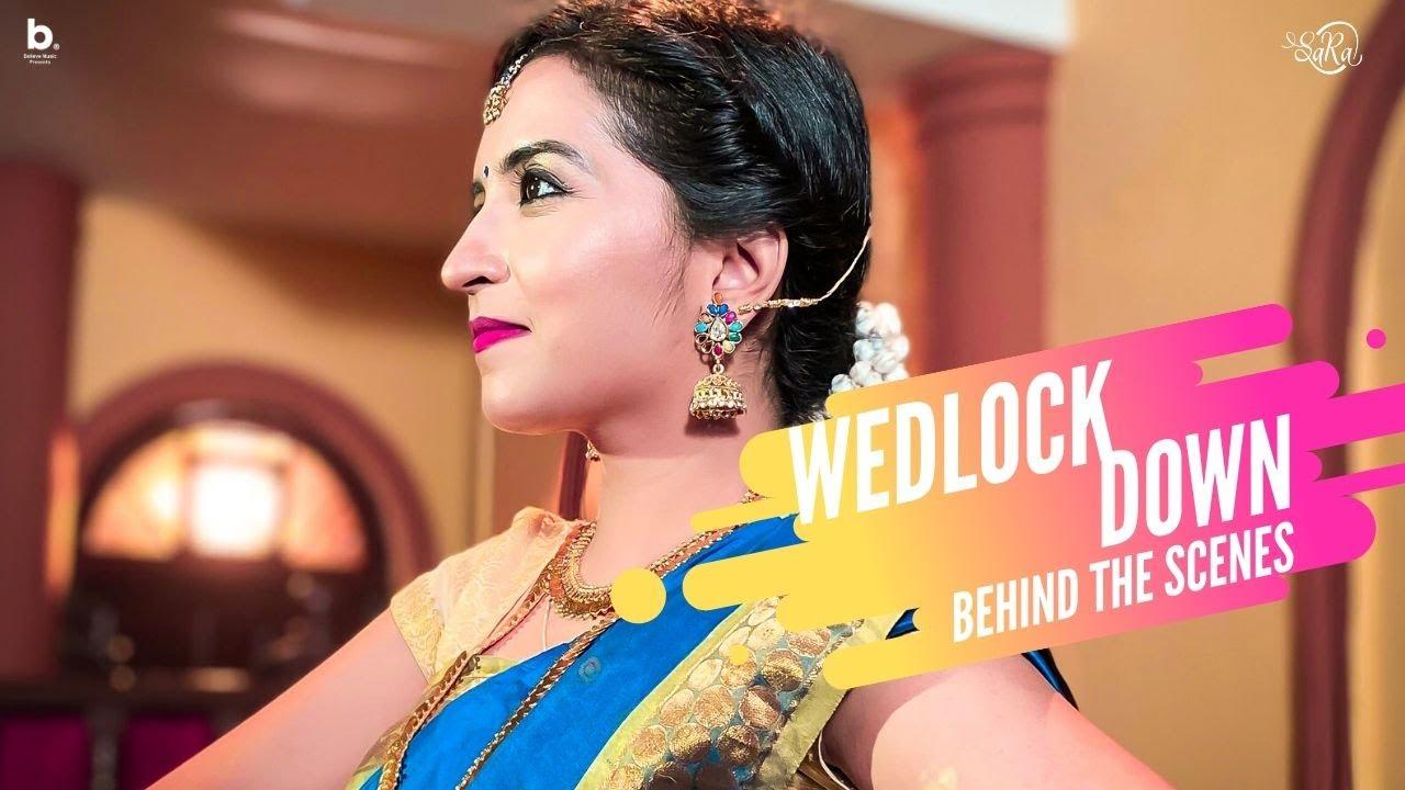 WEDLOCK DOWN - Behind The Scenes | Sangeetha Rajeev | Rohith | We shot in Unlockdown 01😱| SARAVLOGS
