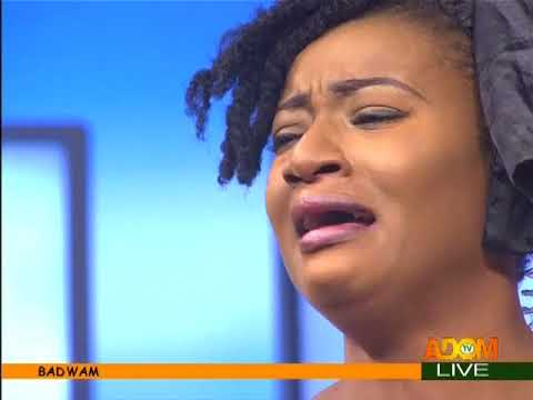 Sister Sandy Weep's On-Set For Ebony - Badwam Ahosepe on Adom TV (9-2-18)