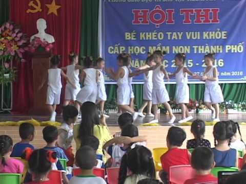cuộc thi be khoe be ngoan truong Sen Hồng Vị Thanh