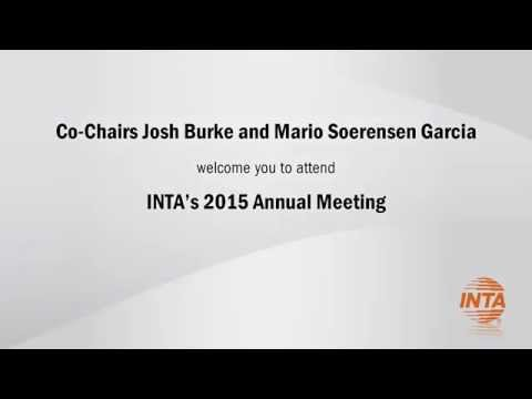 The 2015 INTA Annual Meeting