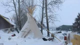 Snow at Standing Rock We will not leave regardless of how many eviction notices Governor DAPLwanker (Jack Dalrymple) sends out. We will get supplies regardless of how many ..., From YouTubeVideos