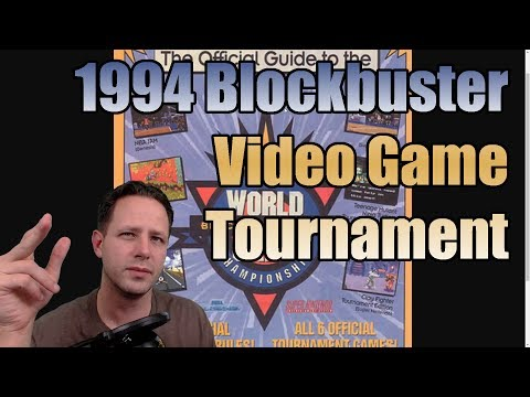 1994 Blockbuster Video Game Championships - Everything I Remember