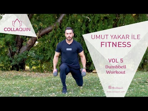 Umut Yakar İle Fitness | Vol 5 | Dumbbell Workout